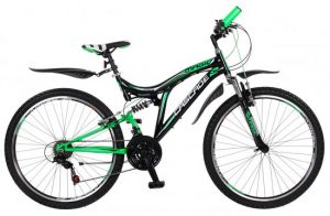 magic-cascade-mountainbike-mannen-zwartgroen-41-cm