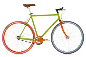 Ks-Cycling-Racefiets-Ks-Cycling-Racefiets-28-inch-Fiets-Fixed-Gear-Bike-Essence-groen-56-cm