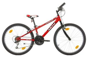 Marlin-Adam-Mountainbike-Jongens-Rood-24-Inch